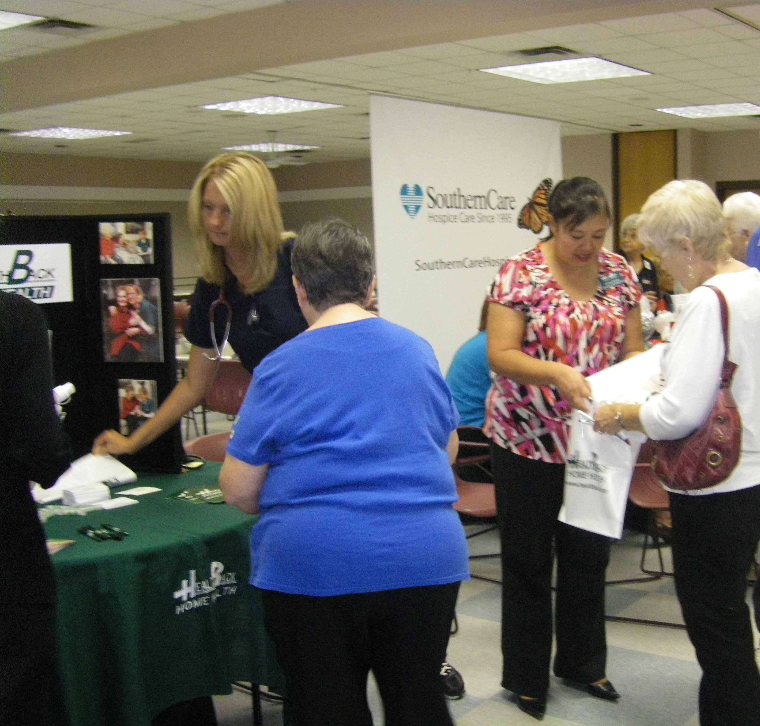 Health Fair Participants