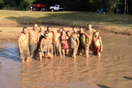 mud volleyball team