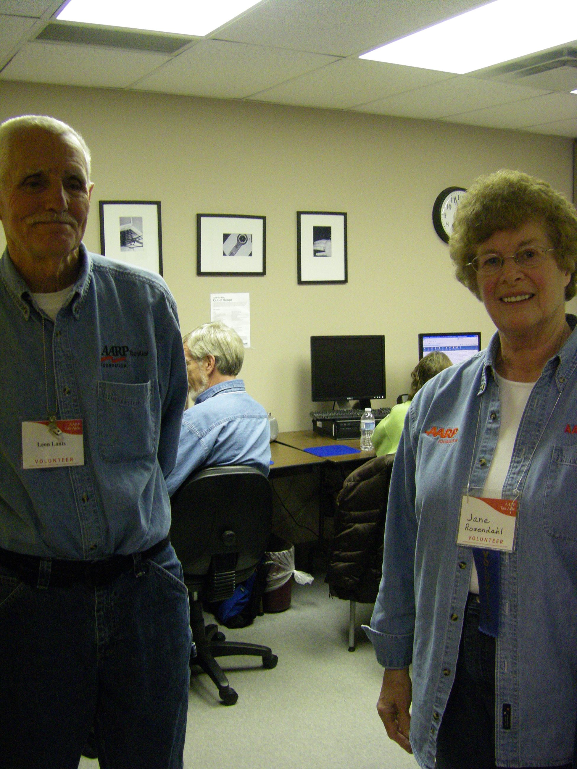AARP Tax Volunteers