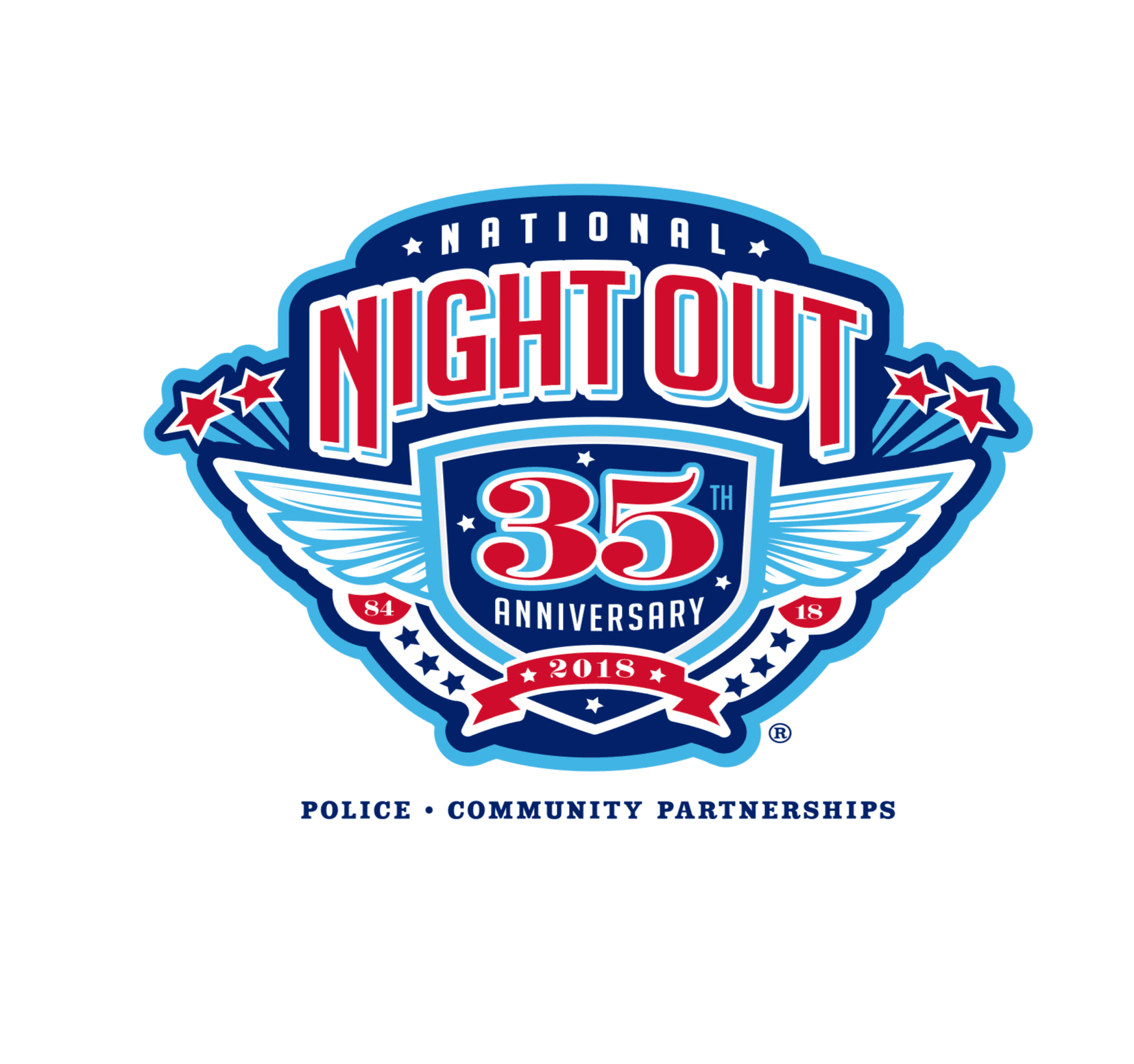 2018 National Night Out Against Crime Logo