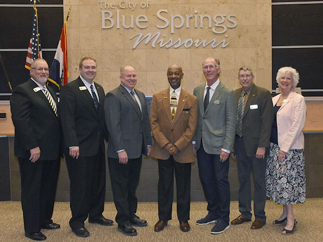 2019-2020 Blue Springs City Council