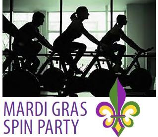 Spin Party Mardi Gras