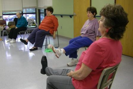 Vesper Hall Arthritis Exercise, Tues & Thurs, 11:30 a.m. - 12:30 p.m.