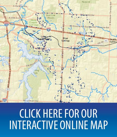 Blue Springs Mo Zip Code Map.Gis Mapping Division City Of Blue Springs Mo Official Website